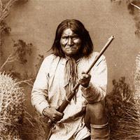 Geronimo - via http://www.todayifoundout.com