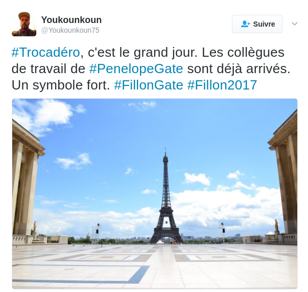 les soutiens à Fillon